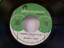 "JEANNIE C RILEY ""HARPER VALLEY P T A / YESTERDAY ALL DAY TODAY"" 45 NEAR MINT"
