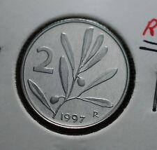 1997  Repubblica Italiana 2 lire  FONDO SPECCHIO  da divisionale