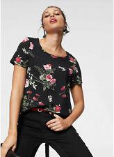 Vero Moda Shirtbluse »SIMPLY EASY«, schwarz bedruckt. Gr. M. NEU!!!
