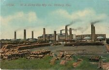 A View Of The W.S. Dickey Clay Manufacturing Company, Pittsburg, Kansas KS