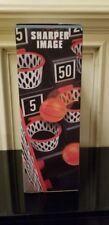 Sharper Image Launch Pad Tabletop Basketball Arcade Basketball Action