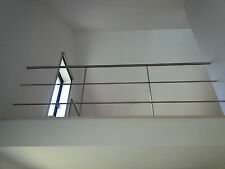Balustrade en INOX 240 X 90 cm ETAT IMPECCABLE