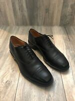 Allen Edmonds Byron Cap Toe Oxfords Black Leather Size 9.5 Made In United States