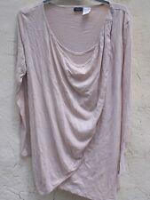 haut blouse la redoute création coton nude T M L 38 40 42 (mesures)