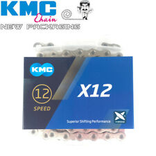 KMC X12 Chain Superior Shifting Performance Silver 12 Speed MTB Road Bike Chains