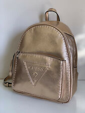 NEW! GUESS BALDWIN PARK COLLECTION ROSE GOLD TRAVEL BACKPACK BAG PURSE SALE
