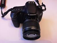 Canon EOS 60D 18.0MP Digital SLR Camera - Black - EFS 18 - 55mm lens