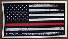American Flag Car Window Bumper Vinyl Reflective Patriot Sticker Decal Black Red