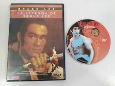 THE LEGEND OF BRUCE LEE DVD + EXTRAS SPANISH REGION 2 WU SHIH