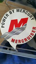 Mercury Mercruiser Quicksilver Decal/Window sticker -Bravo see through decal