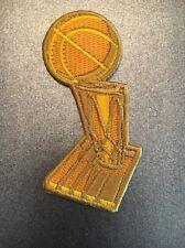 NBA Finals Larry O'Brien Championship Trophy Patch Warriors Cavaliers 2017