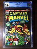 Captain Marvel #27 (1973) - 3rd Thanos App!!! Avengers! Drax! - CGC 9.6!!!