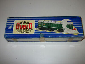 Hornby Dublo Bo Bo diesel 3 rail locomotive box only or spare