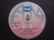 """THE SECRET - HOTEL CARABINEROS 1979 Promo 7"""" Single A&M Records"""