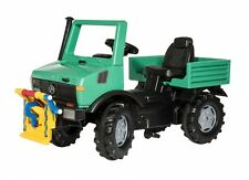 Rolly Toys 038206 Unimog Forst grün mit Steilwinde