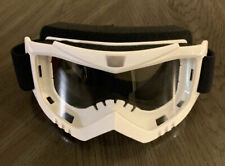 Racing Sports Motocross Motorsport Off-road Paintball Goggles Adult - White