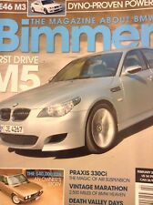 Bimmer BMW Magazine First Drive M5 Praxis 330Ci February 2005 020718nonrh