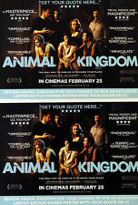 3 X ANIMAL KINGDOM FILM POSTCARDS - JACKI WEAVER GUY PEARCE DAVID MICHOD