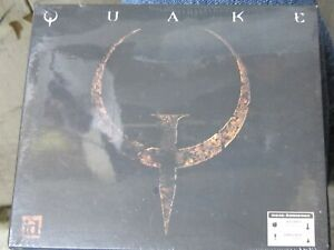 1996 QUAKE full registered version PC game CD-ROM SEALED NEW