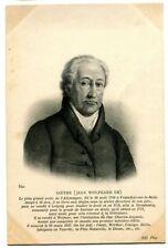 CPA Personnage Célèbre Goethe Jean de Wolgang