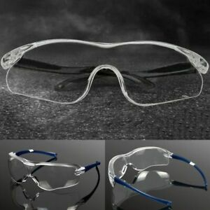 Transparent Safety Glasses Work Goggles Protection Eyewear Wind Dust Proof Uv400