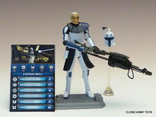 STAR WARS Captain Rex CLONE COLLECTION CW01 1 TCW SOTDS LOOSE