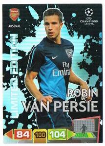 ROBIN VAN PERSIE - Limited Ed Panini Adrenalyn XL Champions League 2011-12 Card