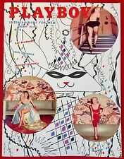 Playboy Mag January 1955 V.2  #2 Bettie Page Girlie Pinup Centerfold Near Mint!