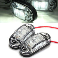 Universal Car LED Side Super Marker Clearance Light Lamp Truck Trailer Caravan