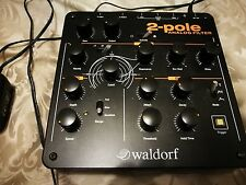 Waldorf 2 Pole Tabletop Mulitmode Analog Filter Audio Effects Processor