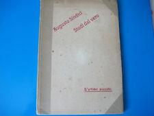 """Augusto Sindici-Studi Dal Vero-""""L'urtimo Peccato""""(le leggende di Roma 1909)"""