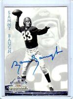 Washington Redskins SAM SAMMY BAUGH #33 1994 TW auto autographed signed card TCU