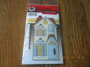 HOLIDAY MANSION House Clear Unmounted Stamp & Die Set ART IMPRESSIONS 4926 New