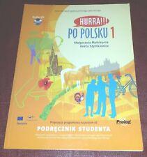 Hurra Po Polsku 1 Podrecznik Studenta