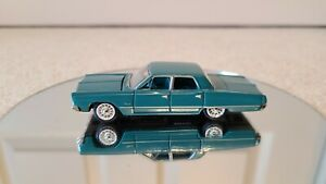 Racing Champions Ertl 1967 Plymouth Fury II 1:64 (IN DISPLAY CASE SINCE NEW)