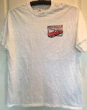 Classic  Car Graphic Art T Shirt Men's Size XL