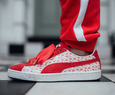 6c88681b4cb Puma X Hello Kitty Suede Red White Women Grade-School 6.5Y 50th BNIB