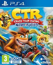 Crash Team Racing Nitro Fueled 🎮 SONY PS4 📥 Digital Version ⚡