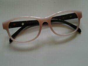 Betsey Johnson READING GLASSES +1.50 Readers Light Pink Frames Brand New +1.50