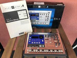 Korg Electribe EA-1  - Adapter - Manual -  Full Boxed  (1)
