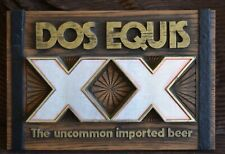 DOS EQUIS PLASTIC SIGN