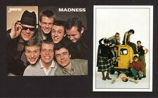 Madness Suggs Pop Rock Music Group Band Fab Card Collection