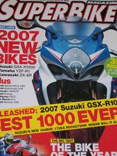 December Superbike Motorcycles Magazines in English