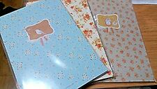 72 sheets lovely Pattern Letter Lined Writing Stationery Paper Pad