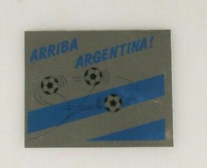 PRL) ITALIA MONDIALE 90 ARRIBA ARGENTINA ADESIVO COLLEZIONE STICKER COLLECTION