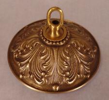 "5 1/2"" Antique Brass Finish Die Cast Brass Screw Collar Ceiling Canopy Kit #877A"