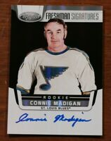 St. Louis Blues Connie Madigan Signed Hockey Card Autographed Slapshot Movie