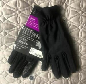 Isotoner Womens Dress Smartouch Gloves, Black, Size XS/Small - MSRP $52 NWT
