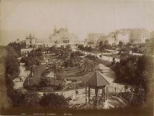 Monte Carlo Monaco Vintage Papier albumine ca 1875
