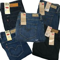 Levi's Curve ID Women's Jeans Straight Bold Slight & Demi Curve Styles Available